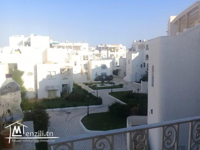 A vendre une appartement  d'un résidence à Hammamet sud marina IS