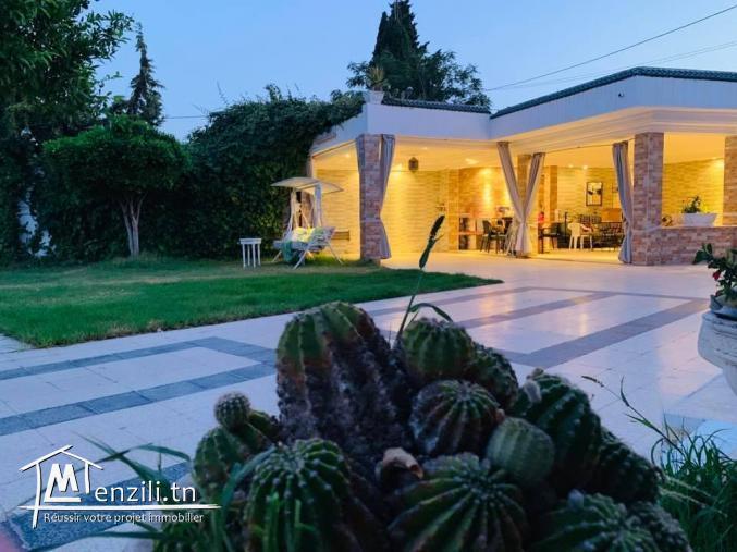 Une villa de rêve au plein cœur du centre ville de tunis