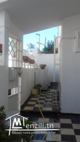 Duplex à l'Aouina avec deux façades