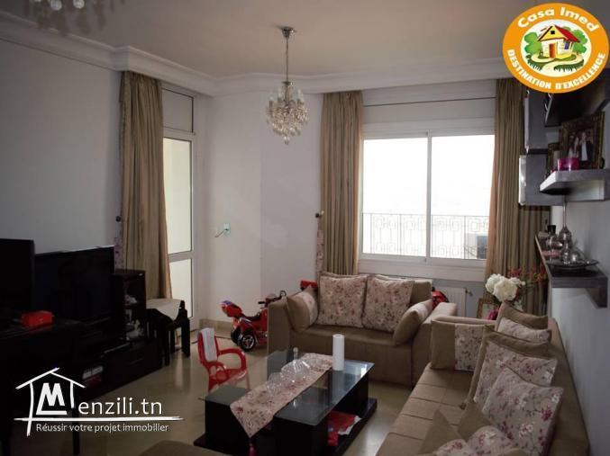un appartement a jardin lmenzeh