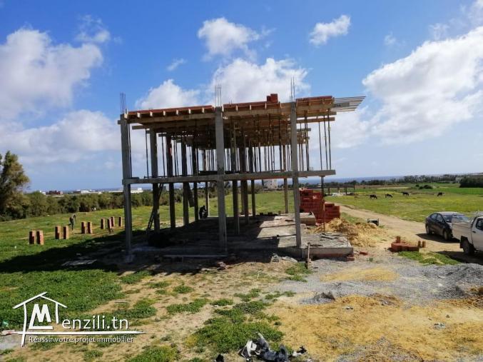 un beau duplexe situé à  kélibia