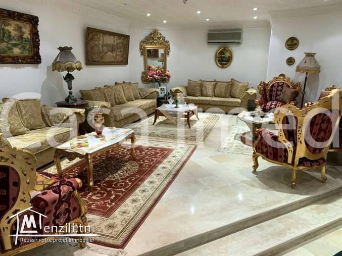 une belle villa style américain à El mornaguia