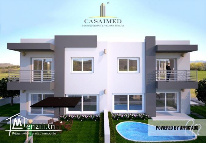 villa en cour de construction et belle vue sur mer tél 26122779
