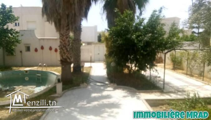AV une villa à mrazka hammamet (A007)
