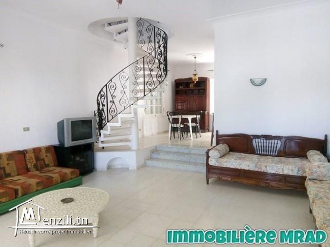 AV une villa zone sultan hammamet (A252)