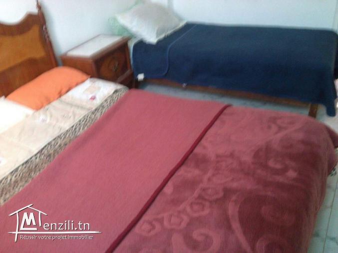 Menzah9 s+1studio pour famille للعائلات av garage tel 54838137