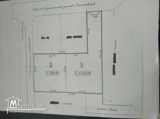 أرض للبيع في منطقة راقية بين بو زيان و قرمدة