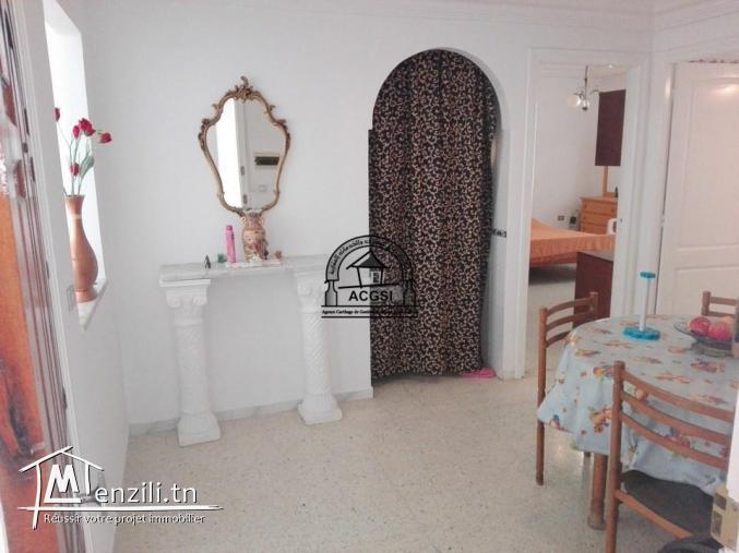 À louer cet appartement meublé à cité El Agba Monastir