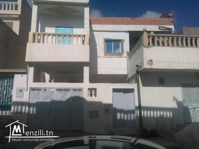 Maison a vendre mhamdia