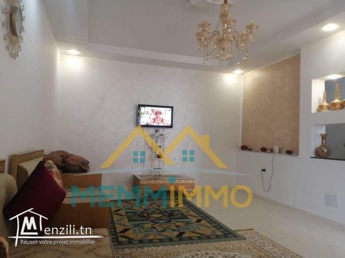 A vendre- Maison de 130 m² sur un terrain de 207 m²- Jbal Dar Waja Mahdia