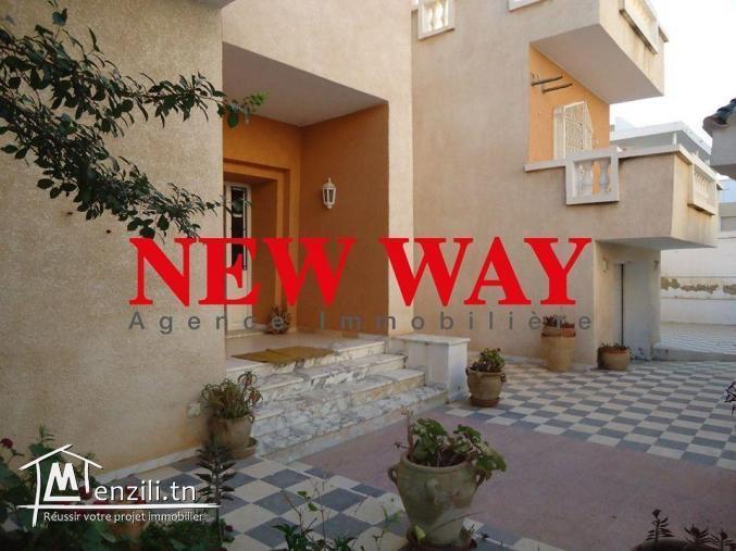Villa à Hammem Sousse dans un quartier résidetiel