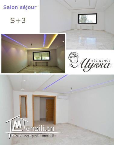 Appartements trés haut standing à vendre, immeuble Alyssa
