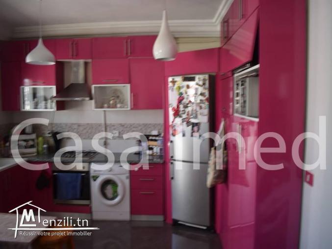 un spacieux appartement de 112 m²