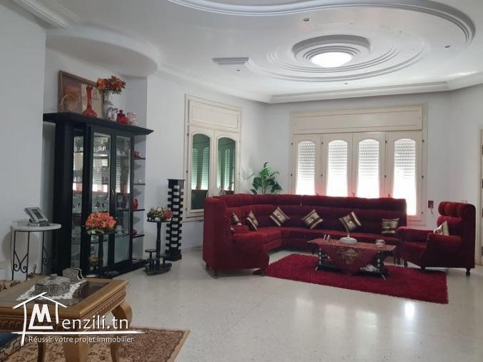 villa a vendre  a route el Ain klm7 sfax
