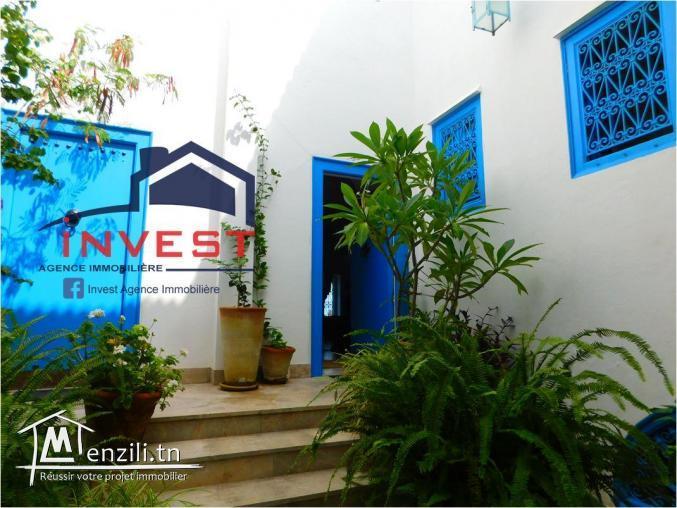 Duplex plein de charme à Sidi Bou Saïd