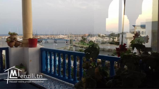 s+3 vue de mer à hammamet sud à vendre