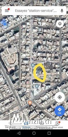 أرض للبناء في حي السعادة الفحص بجانب جامع سالم لحمر