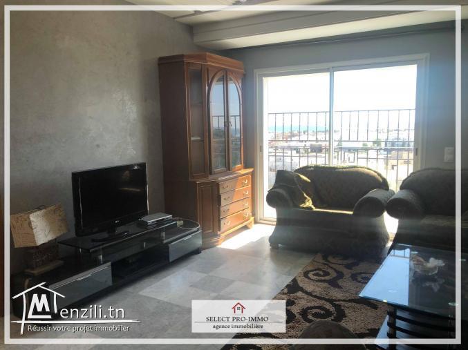 A louer Appartement S+3 meublé à Nabeul