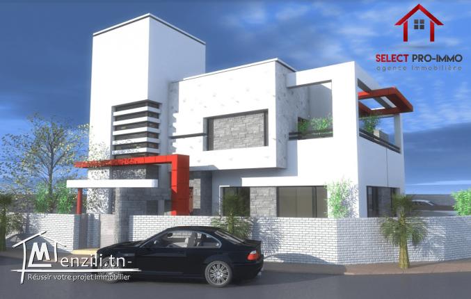 A vendre Villa inachevée à Cité el Wafa