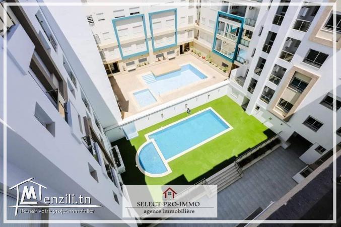 A loué appartement S+1 à Cité el wafa