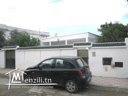 Villa de 270m² sur un terrain de 522m² à Ben Arous