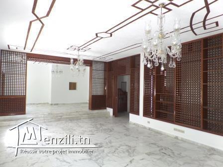 Villa de 400 m² sur un terrain de 516 m² à Cité El khadhra