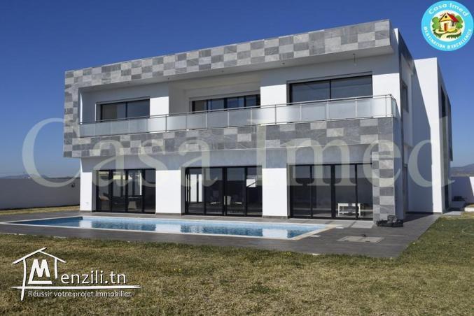 une magnifique villa sur deux niveaux