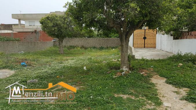 Terrain d'habitation à cité Mirdes kelibia
