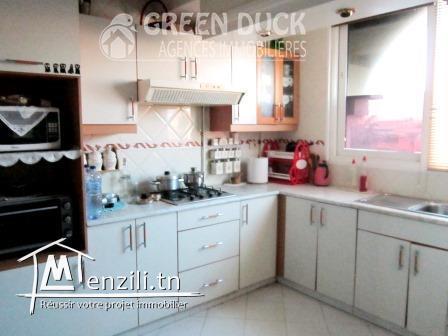 Appartement S+3 de 115 m² à Mégrine Riadh :