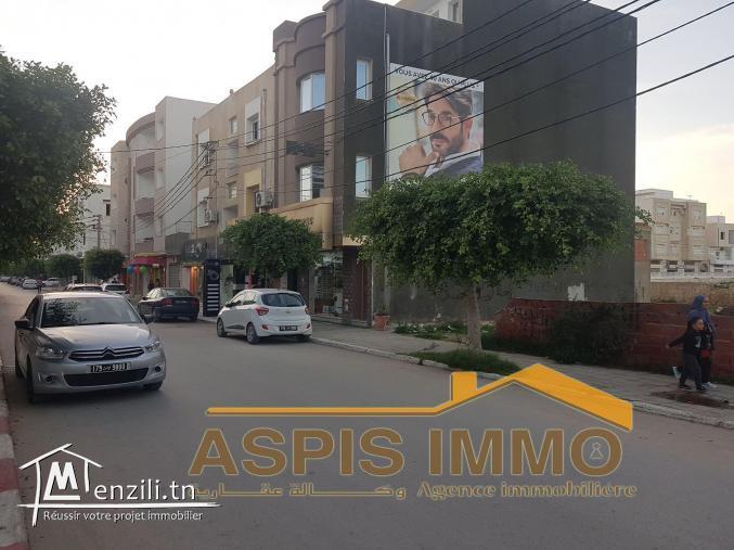 terrain commercial à cité ezzouhour Kelibia