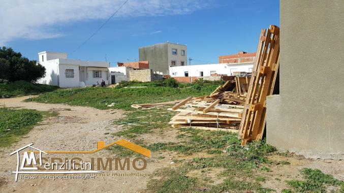 terrain d'habitation à Kelibia situé près de salle des fêtes amira