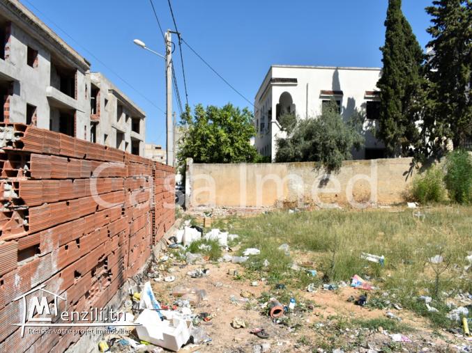 un superbe terrain a cite tahrir