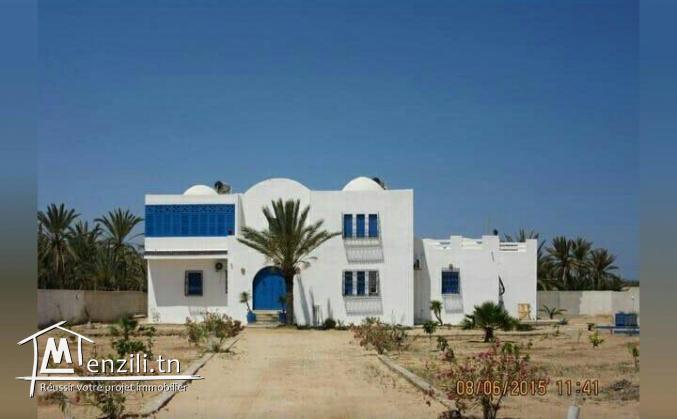 Belle villa à vendre à sidi jmour (la doukana)