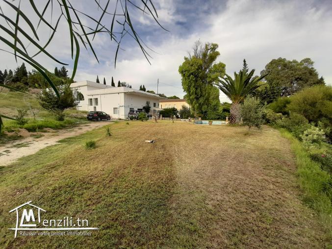 A vendre villa avec piscine, garage et bâtiment couvert