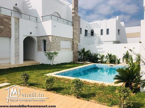 Villa Sylvie à Hammamet