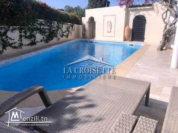 Villa avec piscine et jardin à carthage ref MVV0380