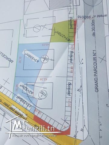 terrain Double façade 5000 m² sur la route principale Hammam Sousse GP1