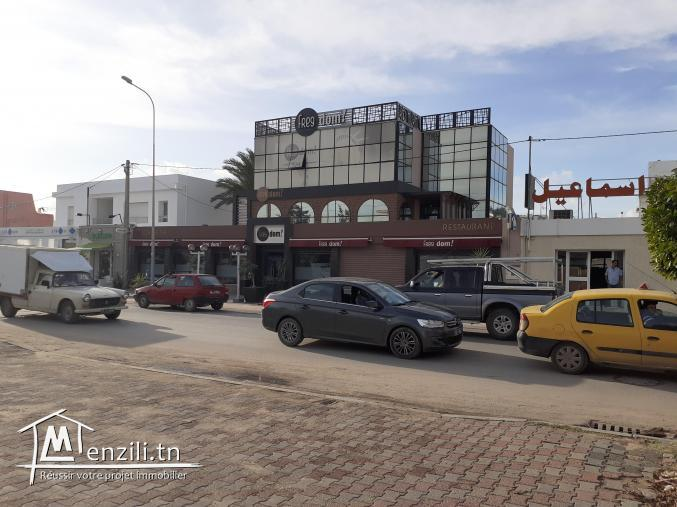 Local  commercial a louer ou  a vendre  à  pouderier sfax