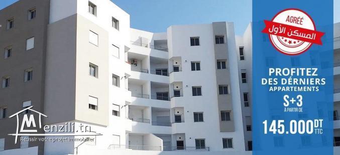 Appartement S3 HS Neuf Chez Promoteur à Montfleury