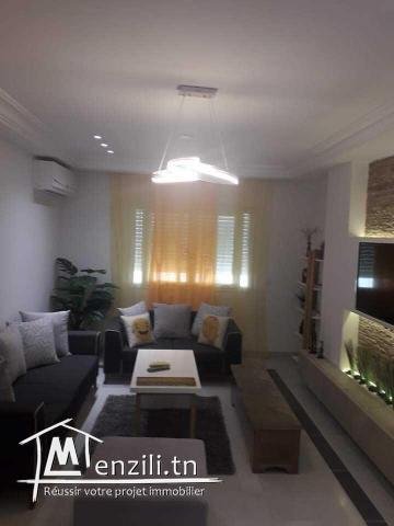 Appartement S+3 Meublé à cité el wahat ref MAL0866