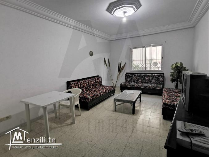 S+2 meublé, location Annuelle à Cité Mora