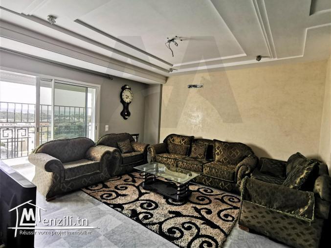 S+3 meublé dans une residence gardée