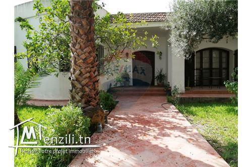 villa s+2 avec jardin