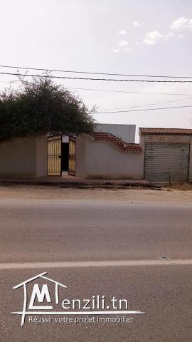 Maison située a béjaoua 2 sidi thabet