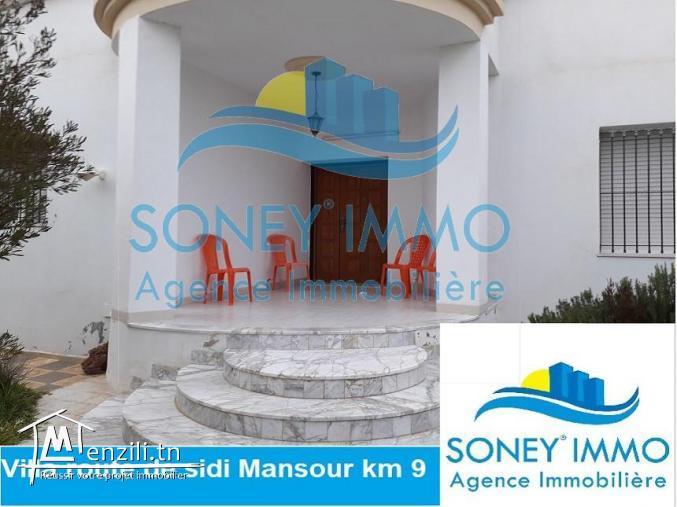 villa route de sidi mansour km 9