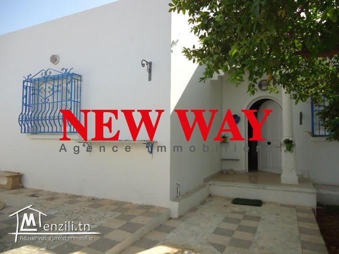 Une Villa independante à cité el Manazah proche de toutes commodités