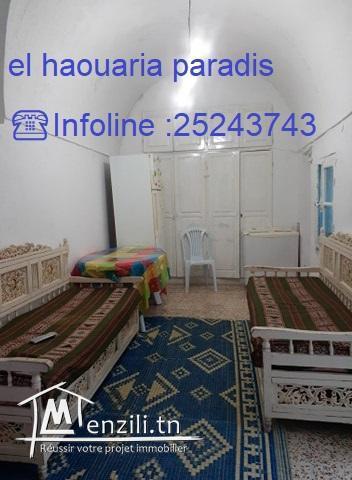 une maison a vendre au centre ville el haouaria