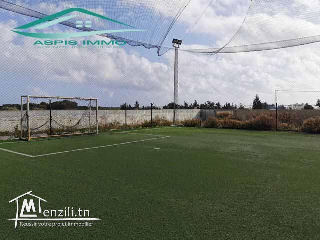 terrain de football 5500 m² à kelibia