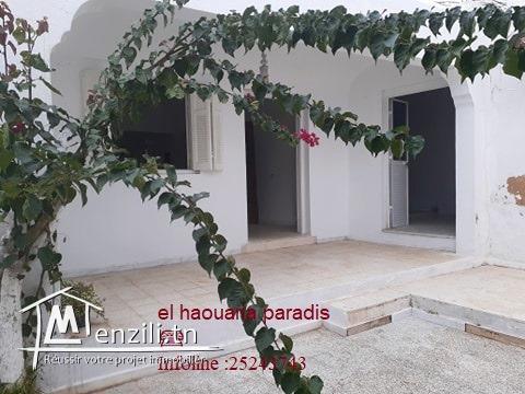 Deux(2) maisons a vendre de style traditionnel au centre ville el haouaria