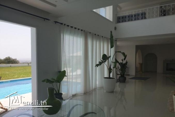 Luxueuse villa sur les hauteurs d'hammamet
